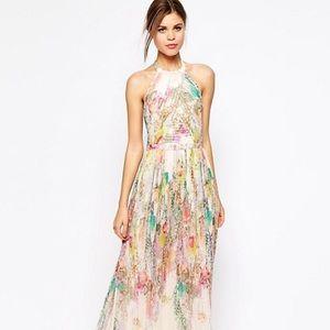 Ted Baker Maxi Dress in Wispy Meadow Print